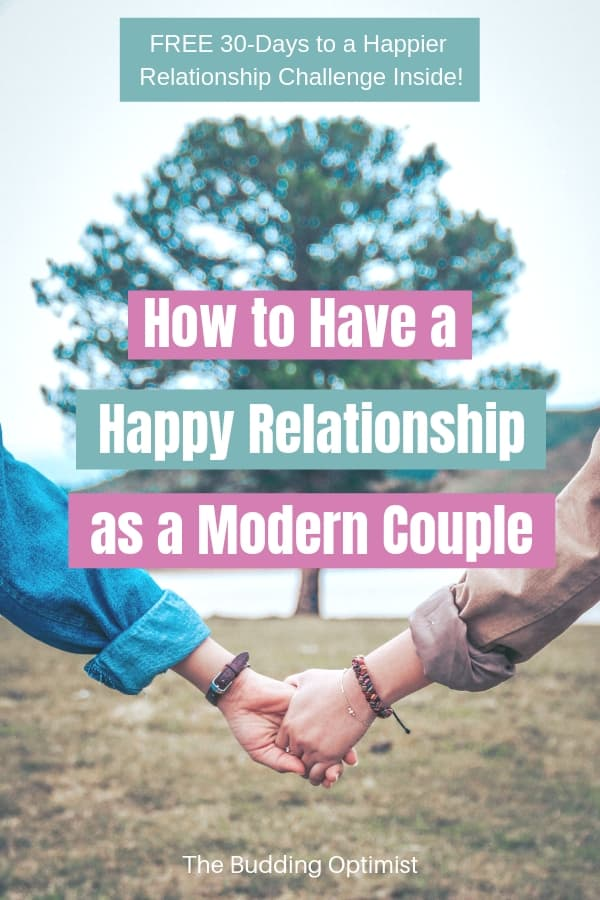 Rules for a happy marriage Pinterest - couple holding hands in front of a tree
