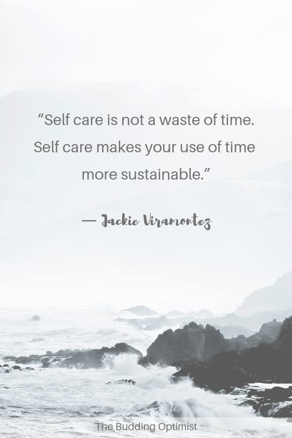 Self-care quotes - the importance of self-care